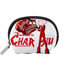 Michael Andrew Law s Mal Girl & Mr Bbq Pork Accessory Pouches (small)  by michaelandrewlaw