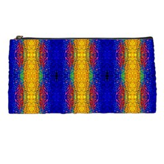 Cool  Abstract Neon Pattern Pencil Cases by Costasonlineshop