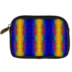 Cool  Abstract Neon Pattern Digital Camera Cases by Costasonlineshop