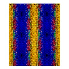 Cool  Abstract Neon Pattern Shower Curtain 60  X 72  (medium)  by Costasonlineshop