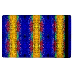 Cool  Abstract Neon Pattern Apple Ipad 2 Flip Case by Costasonlineshop