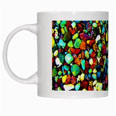 Colorful Stones, Nature White Mugs by Costasonlineshop
