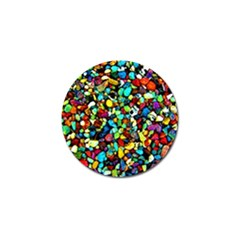 Colorful Stones, Nature Golf Ball Marker (4 Pack) by Costasonlineshop