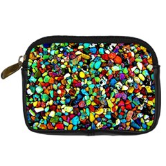 Colorful Stones, Nature Digital Camera Cases by Costasonlineshop