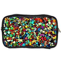 Colorful Stones, Nature Toiletries Bags 2 Side by Costasonlineshop