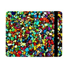 Colorful Stones, Nature Samsung Galaxy Tab Pro 8 4  Flip Case by Costasonlineshop