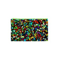 Colorful Stones, Nature Cosmetic Bag (xs) by Costasonlineshop