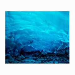 Mendenhall Ice Caves 3 Small Glasses Cloth (2-side) by trendistuff
