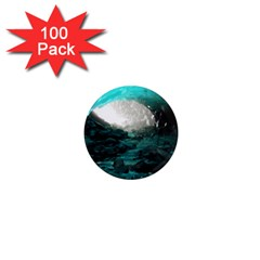 Mendenhall Ice Caves 2 1  Mini Magnets (100 Pack)  by trendistuff