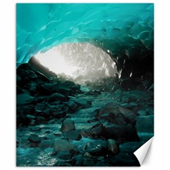 Mendenhall Ice Caves 2 Canvas 8  X 10  by trendistuff