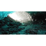 MENDENHALL ICE CAVES 2 Happy New Year 3D Greeting Card (8x4)  Front