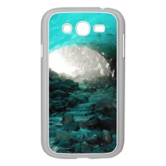 Mendenhall Ice Caves 2 Samsung Galaxy Grand Duos I9082 Case (white) by trendistuff