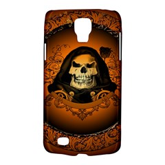 Awsome Skull With Roses And Floral Elements Galaxy S4 Active by FantasyWorld7