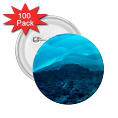 Mendenhall Ice Caves 1 2 25  Buttons (100 Pack)  by trendistuff