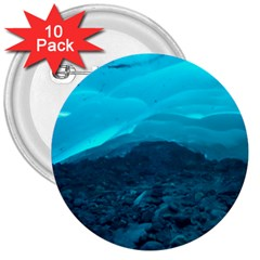 Mendenhall Ice Caves 1 3  Buttons (10 Pack)  by trendistuff