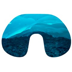 Mendenhall Ice Caves 1 Travel Neck Pillows by trendistuff