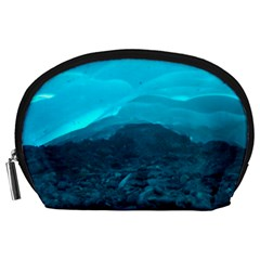 Mendenhall Ice Caves 1 Accessory Pouches (large)  by trendistuff
