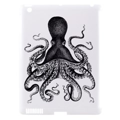 Vintage Octopus Apple Ipad 3/4 Hardshell Case (compatible With Smart Cover) by waywardmuse