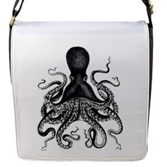 Vintage Octopus Flap Messenger Bag (s)