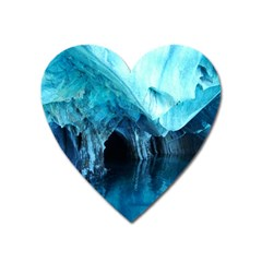 Marble Caves 3 Heart Magnet by trendistuff