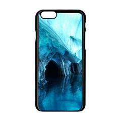 Marble Caves 3 Apple Iphone 6/6s Black Enamel Case by trendistuff