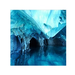 Marble Caves 3 Small Satin Scarf (square)