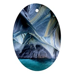 Marble Caves 1 Ornament (oval)  by trendistuff