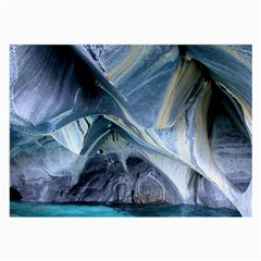 Marble Caves 1 Large Glasses Cloth (2 Side) by trendistuff