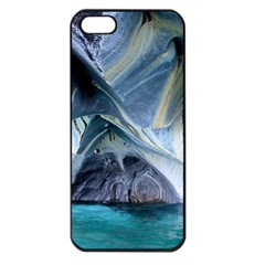Marble Caves 1 Apple Iphone 5 Seamless Case (black) by trendistuff