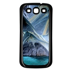 Marble Caves 1 Samsung Galaxy S3 Back Case (black) by trendistuff