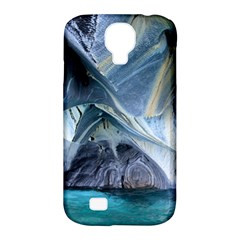 Marble Caves 1 Samsung Galaxy S4 Classic Hardshell Case (pc+silicone) by trendistuff