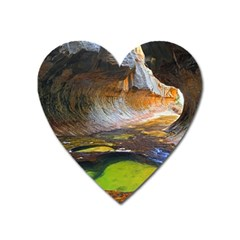 Left Fork Creek Heart Magnet by trendistuff