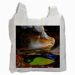 Left Fork Creek Recycle Bag (one Side) by trendistuff