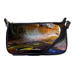 Left Fork Creek Shoulder Clutch Bags by trendistuff
