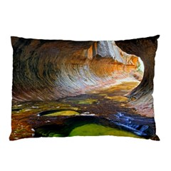 Left Fork Creek Pillow Cases (two Sides) by trendistuff