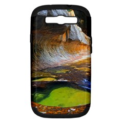 Left Fork Creek Samsung Galaxy S Iii Hardshell Case (pc+silicone) by trendistuff