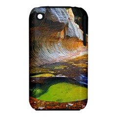 Left Fork Creek Apple Iphone 3g/3gs Hardshell Case (pc+silicone) by trendistuff