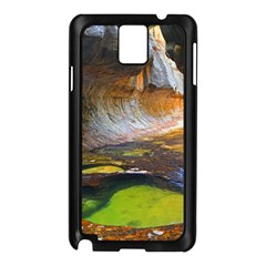 Left Fork Creek Samsung Galaxy Note 3 N9005 Case (black) by trendistuff