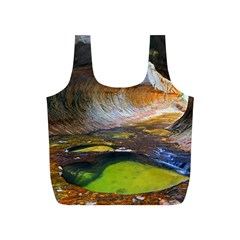 Left Fork Creek Full Print Recycle Bags (s)  by trendistuff