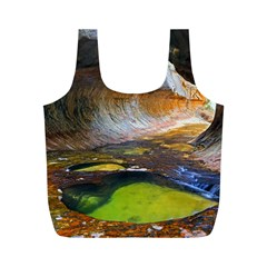 Left Fork Creek Full Print Recycle Bags (m)  by trendistuff