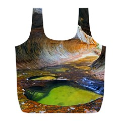 Left Fork Creek Full Print Recycle Bags (l)  by trendistuff