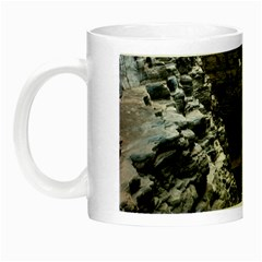 Karijini Canyon Night Luminous Mugs by trendistuff