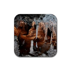 Jenolan Imperial Cave Rubber Coaster (square)  by trendistuff