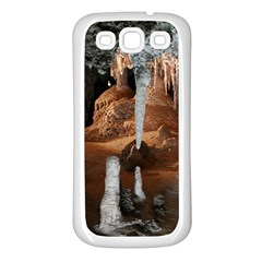 Jenolan Imperial Cave Samsung Galaxy S3 Back Case (white) by trendistuff