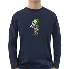 The Mad Hatter Long Sleeve Dark T Shirts