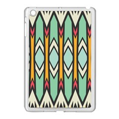 Rhombus And Arrows Pattern			apple Ipad Mini Case (white) by LalyLauraFLM