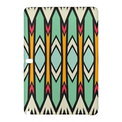 Rhombus And Arrows Pattern			samsung Galaxy Tab Pro 10 1 Hardshell Case by LalyLauraFLM
