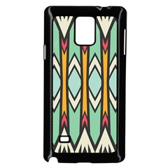 Rhombus And Arrows Pattern			samsung Galaxy Note 4 Case (black) by LalyLauraFLM