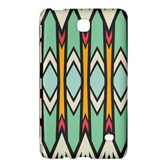 Rhombus And Arrows Pattern			samsung Galaxy Tab 4 (7 ) Hardshell Case by LalyLauraFLM