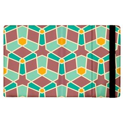 Stars And Other Shapes Pattern			apple Ipad 3/4 Flip Case by LalyLauraFLM